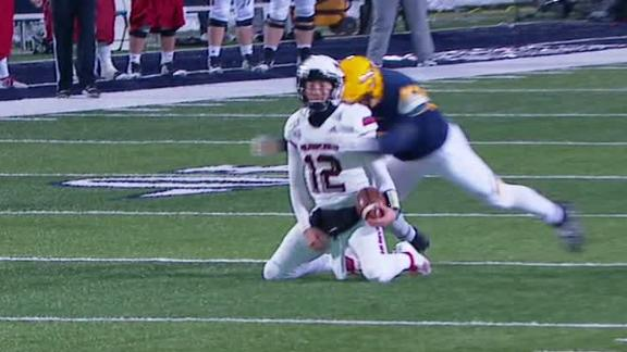 Toledo's Taylor ejected after brutal targeting hit