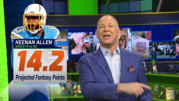 Berry expects breakout game for Keenan Allen in Week 11