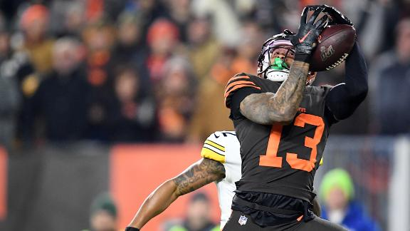 OBJ's 42-yard catch sets up Baker TD run