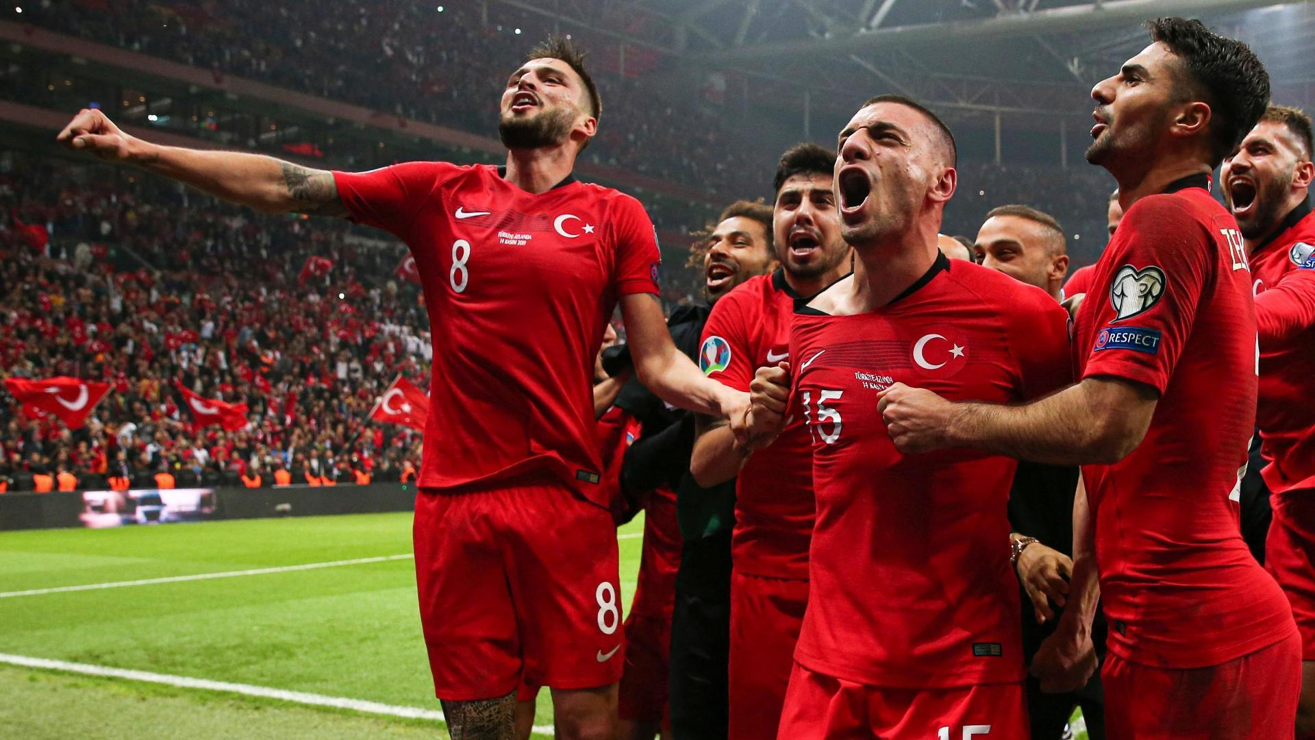 Turkey secure Euro 2020 berth in tense draw