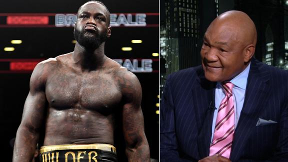 Foreman: Deontay Wilder hits like a 'steaming locomotive'