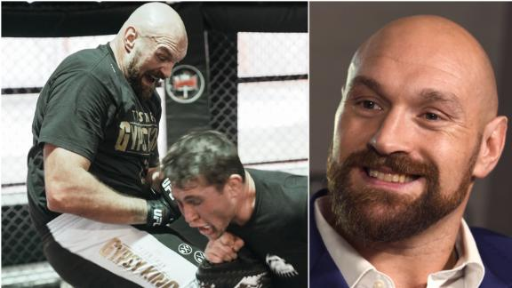 Fury '100%' wants MMA bout