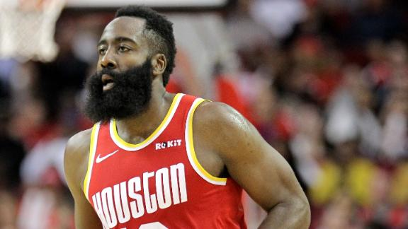 Harden pushes Rockets to victory with 44 points
