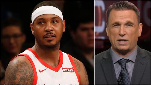Legler: Melo will have bench role for Portland