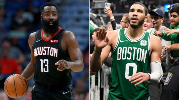 Celtics' success and Harden-Westbrook pairing among things to like and not like
