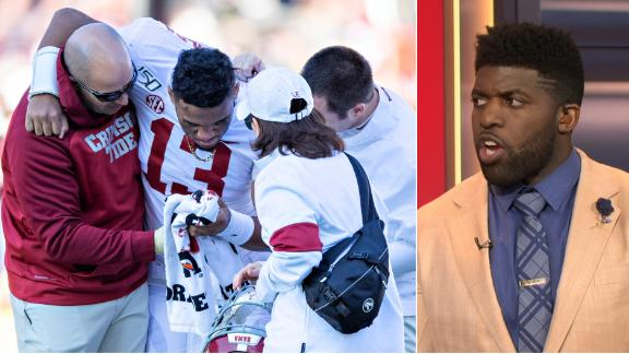 Acho heartbroken over Tua injury
