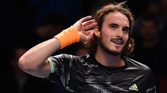 Tsitsipas beats Federer in ATP Finals semi
