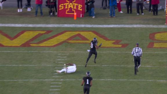 Iowa State opens 2nd half with 75-yard TD
