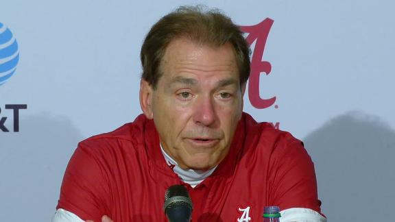Saban: We hate that Tua got injured