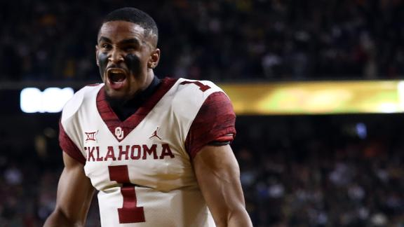 Hurts, Sooners complete epic comeback to defeat Baylor