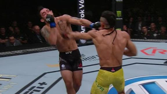 Silva de Andrade catches Barao in third round