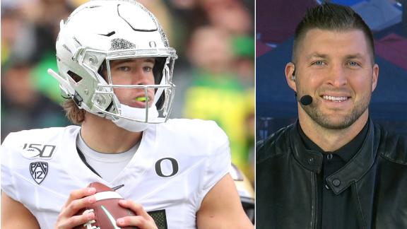Tebow: Oregon needs style points to earn CFP spot