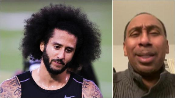 Stephen A.: Kaepernick doesn't want to play, he wants to be a 'martyr'