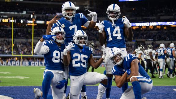 Colts finds the end zone 4 times in win over Jaguars