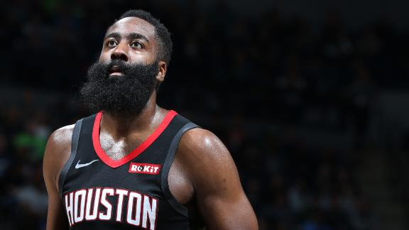 Harden sizzles with 49 points in Rockets' win