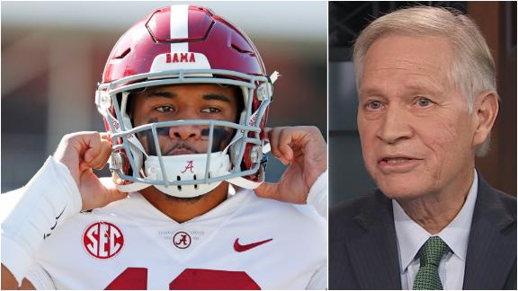 Mortensen: Tua won't be ready for the combine and the draft