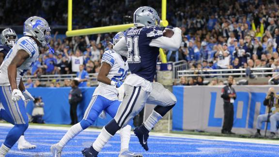Elliott mimics Prescott on TD celebration