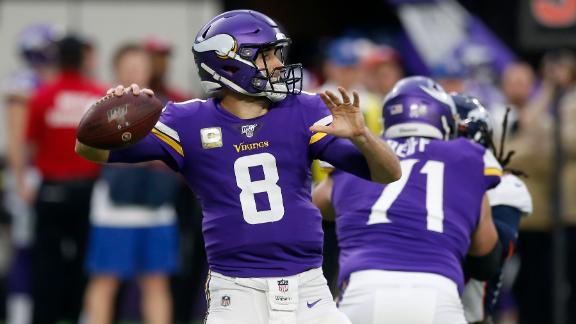Cousins slings 3 TDs to lead Vikings' comeback