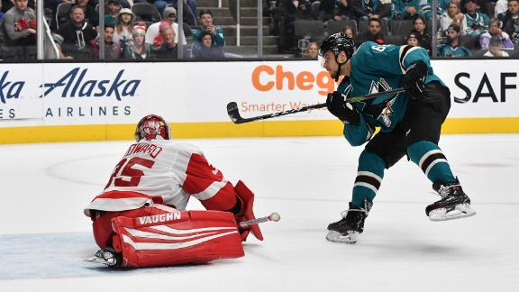 Labanc's shootout goal wins it for Sharks