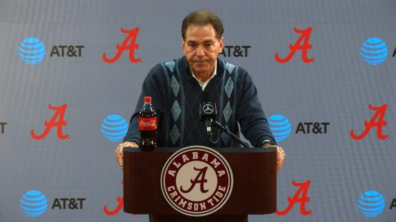 Saban: Tua's class and spirit will be missed