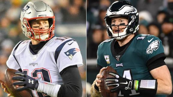 Berry: Not comfortable with Brady or Wentz for fantasy playoffs