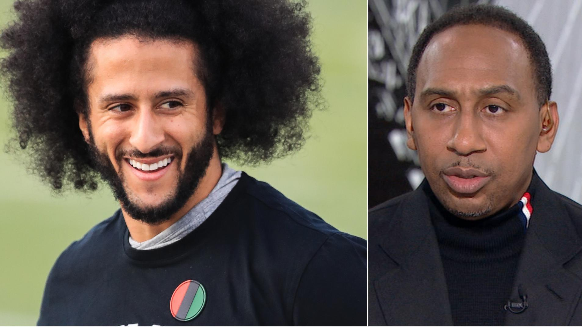 Stephen A.: Kaepernick changing workout 'eradicates' his points altogether