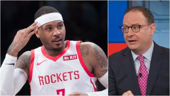 Can Melo help Lillard and McCollum?