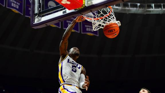 LSU overcomes slow start, wins big against UMBC