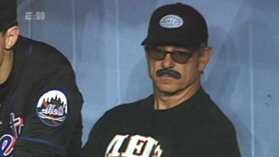 The time Valentine used a disguise to return to a baseball game