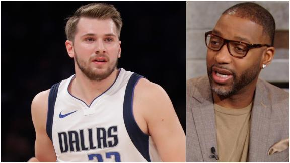 McGrady impressed by Luka's numbers