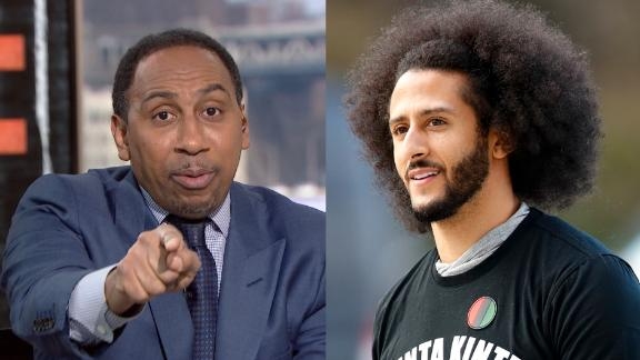 Stephen A: Kaepernick antagonized the NFL while asking for a job