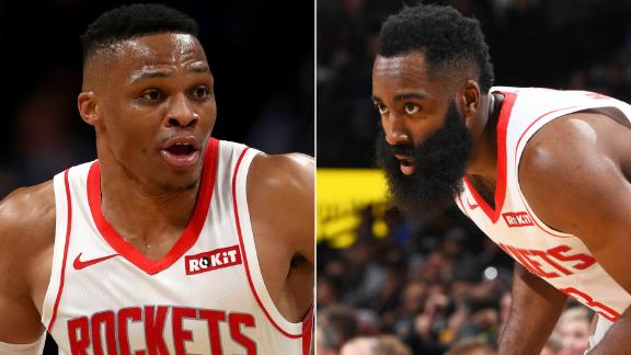 Westbrook, Harden combine for 52 points in loss