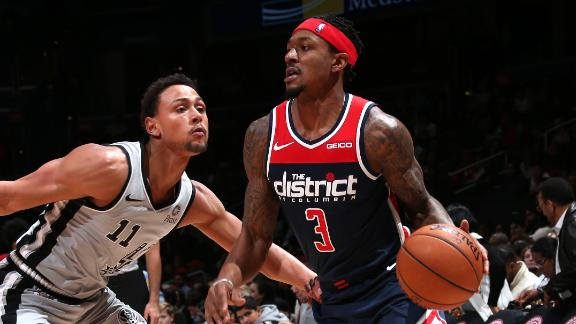 Beal scores 33 in close win vs. Spurs