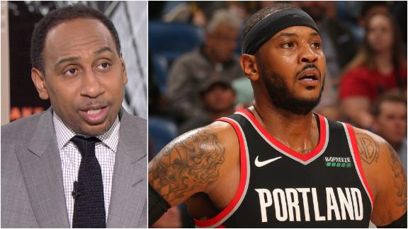Stephen A.: Melo will be a difference-maker for Portland