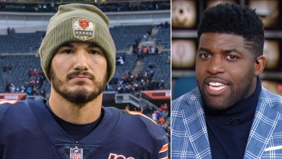 Acho: Trubisky's days in Chicago are done