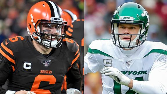 Mayfield and Darnold riding hot streaks