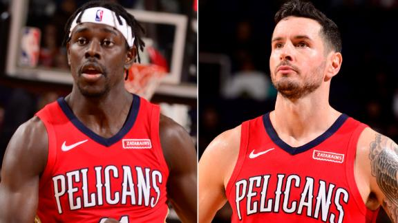 Redick, Holiday help Pelicans edge Suns