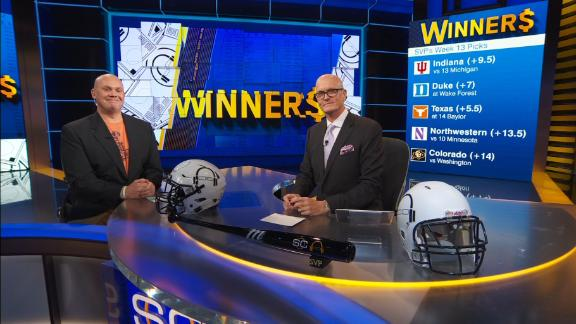 SVP dishes out his Week 13 college football winners