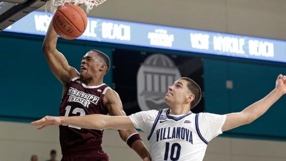 Woodard throws down 5 dunks in Miss State loss