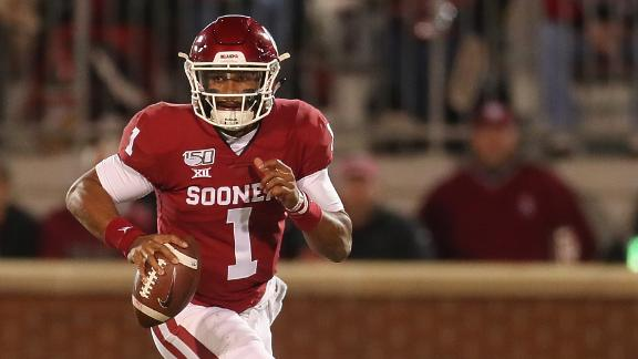 Hurts helps Oklahoma hold onto their CFP hopes