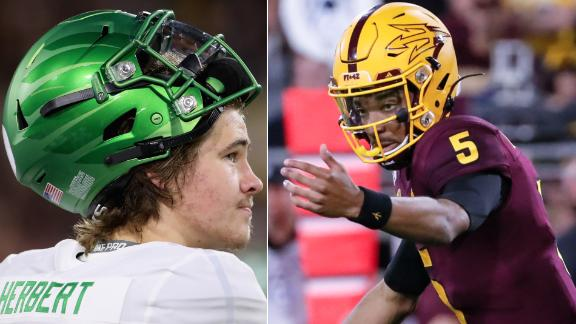 Daniels, Arizona State send No. 6 Oregon to stunning loss