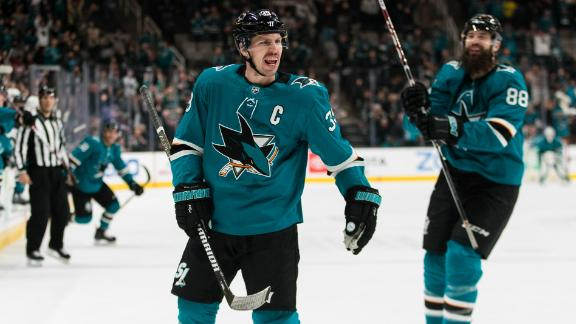Couture's OT goal lifts Sharks past Islanders
