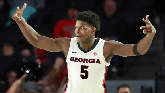 Edwards' 37 points not enough as Georgia's rally falls short