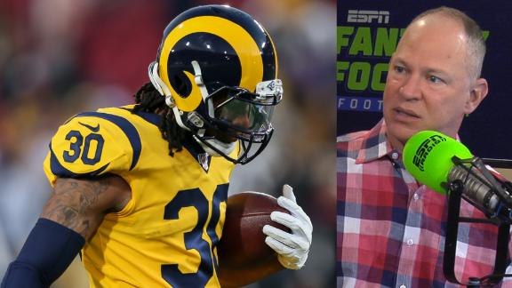 Gurley turns in another rough fantasy game