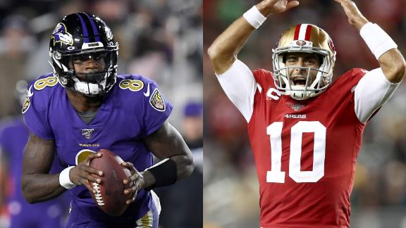 Do 49ers or Ravens have better chance of reaching Super Bowl?