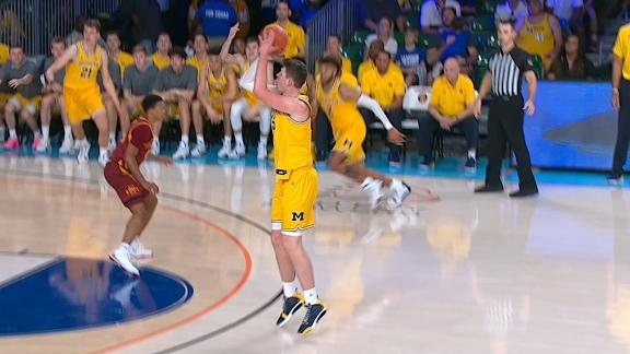 Wolverines knock down back-to-back 3's