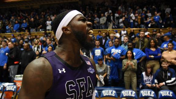 Duke falls to Stephen F. Austin in largest upset in past 15 seasons