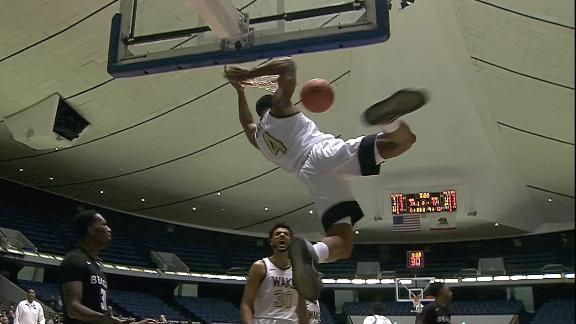 Neath throws down big dunk