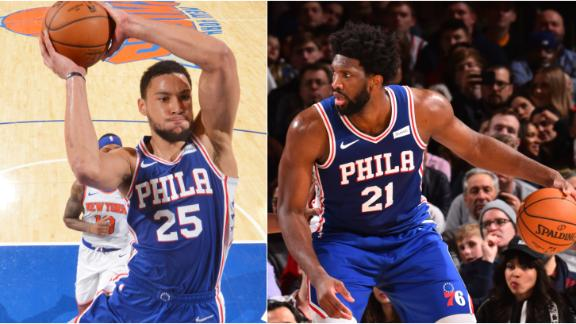 Simmons, Embiid lead 76ers' comeback win vs. Knicks
