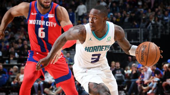 Rozier propels Hornets to win with 6 triples